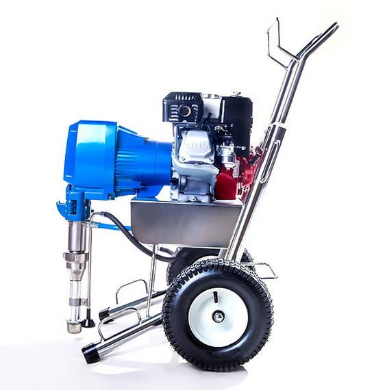 HD8900汽油引擎式高压无气喷涂机腻子喷涂