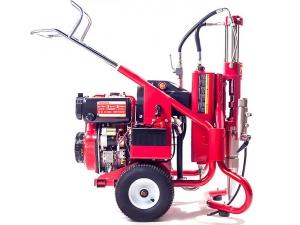HD1033电启动汽油、柴油引擎腻子高压无气喷涂机